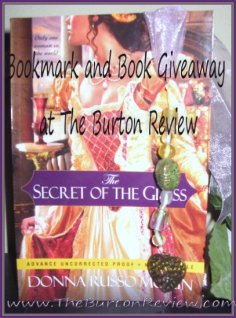 Bookmark and Book Giveaway!